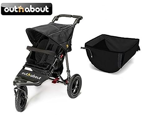 Out N About Nipper V4 carrito y cochecito de bebé en cesta ...