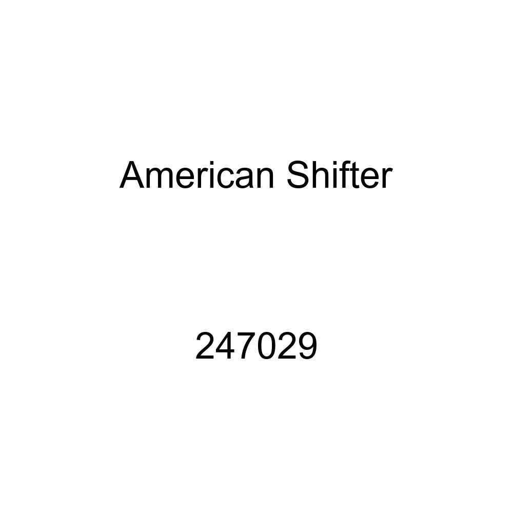 Black Caduceus Symbol American Shifter 247029 Blue Flame Metal Flake Shift Knob with M16 x 1.5 Insert