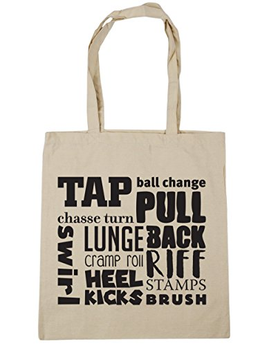 HippoWarehouse Tap meaning Tote Shopping Gym Beach Bag 42cm x38cm, 10 litres Natural