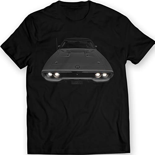 DTG MKWTees 1972 Plymouth Road Runner GTX 440 T-Shirt (M, Black)