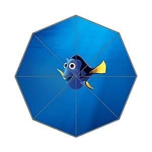 Fashion Umbrella Finding Nemo Dory Disney Art Custom Foldable Umbrella Rain Umbrella Wind Resistant Windproof Floding Travel Umbrella