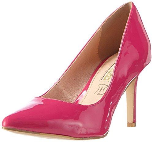 Buffalo Damen H733-c002a-4 P2010m Patent Pumps Pink (FUSCHIA 33)