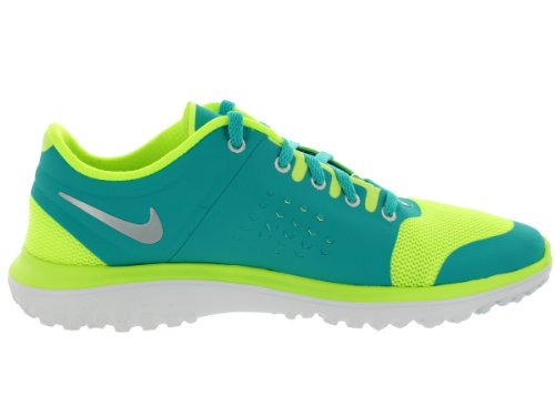 Nike Fs Lite Run Volt Sports Training Shoes Volt/Mtlc Pltnm/Trb Grn/White smeqPdhicF