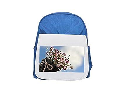 Bolsa Gypsofilia Semillas, Gypsophila, Bolsa Estampada Mochila Infantil Azul Lindo Mochilas, Mochilas Pequeñas
