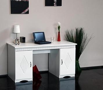 Schreibtisch Landhaus Weiß Landhausstil Weiss Bürotisch Tisch Stil