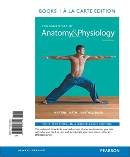 Amazon fundamentals of anatomy physiology books a la carte amazon fundamentals of anatomy physiology books a la carte edition 10th edition 9780321928610 frederic h martini judi l nath fandeluxe Images