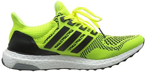 new york 86e01 91316 ... Adidas Mens Ultra Boost Scarpe Da Corsa - Giallo Solare - Cuscino  Neutro Giallo