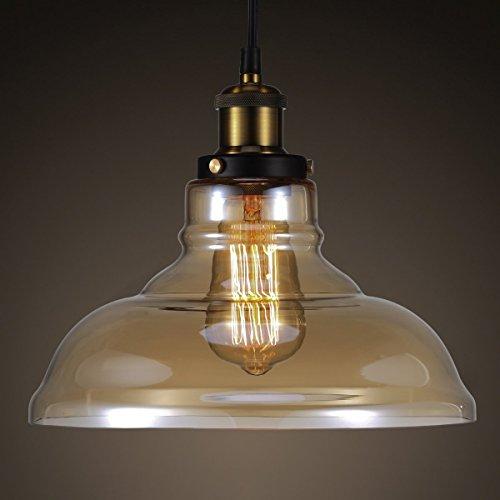 lighting for halls. vintage pendant light su0026g amber glass ceiling lamp shade hanging lampshades modern e27 edison bulb chandelier for diner hall pub restaurant lighting halls