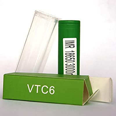 Sony VTC6 IMR18650 with Plastic Case 3000mAh: Amazon com: Wedaan
