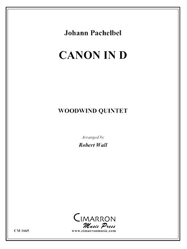 Canon in D (Canon In D Brass Quintet Sheet Music)