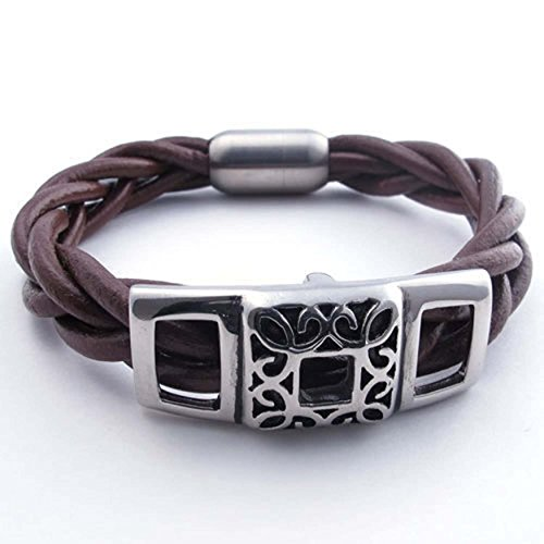 Two Tone Gold Jewelry Clasp Magnetic Energy Bracelet - 9