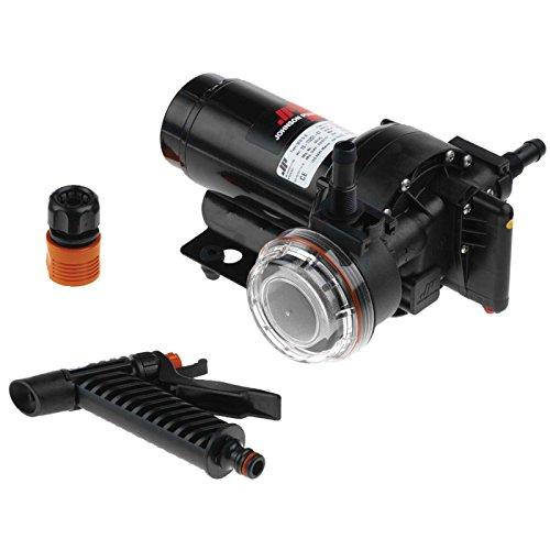 affordable Johnson Pumps 10-13407-07 Aqua Jet 5.2 Wash Down Pump, 12V
