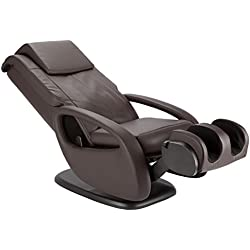 Human Touch WholeBody 7.1 Swivel-Base Full Body Relax and Massage Chair | Warm Air Heating | Easy Customizable Massage | Retractable Ottoman | Espresso Color Option