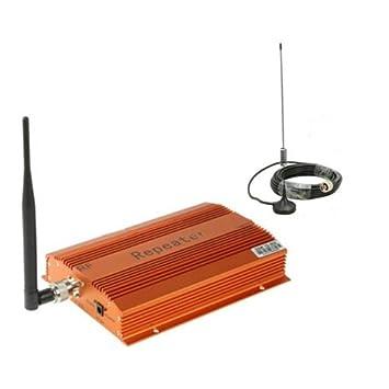 1Ajuste GSM 900 MHz 900 MHz mini teléfono celular amplificador de señal del repetidor del amplificador