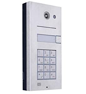 2N Helios IP 1 button + keypad + camera by Teledynamics