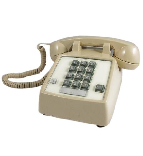 Line 2 Speakerphone Hotel (Cortelco 250044-Vba-27f Desk Phone With Flash/Message Ash)