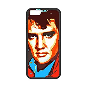 iPhone 6 4.7 Inch Cell Phone Case Black Elvis zxma