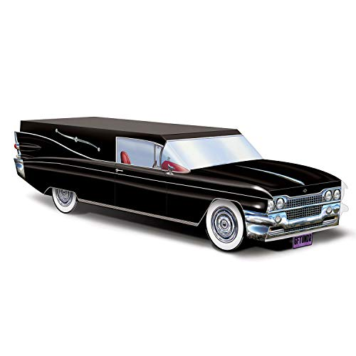 Hearse Halloween Decoration (Funeral Car Hearse 13.75