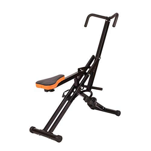 Crunch Hydraulic Resistance Core Legs Body Horse Abdominal Body and Ab Exercise Riding Machine (Curve Shape)