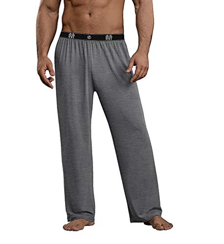 Male Power 188-253 Bamboo Lounge Pants Gray - Male Power Sheer