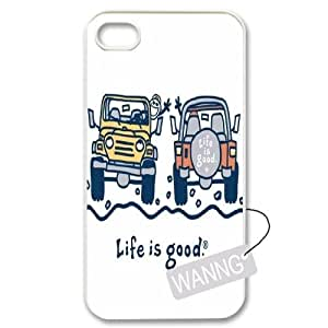 Jeep Girl Iphone4,4g,4s Case Cover, Jeep Girl DIY Case for Iphone4,4g,4s at WANNG