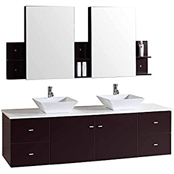 Kokols 9146 Bathroom Vanities Espresso Amazon Com