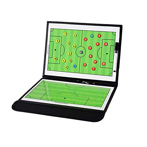 Coaches' & Referees' Gear Firelong Soccer Coaching Board Big Tri-pod Football Tactic Board Dry Erase Marker Board Strategy Game Plan White Board Clipboard Training Equipment Huge Size with Tripod Stand and Carrying Bag