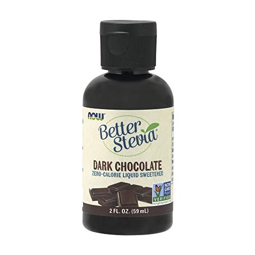 NOW Foods BetterStevia Dark Chocolate Liquid,2-Ounce ()