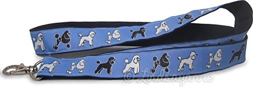 Standard Poodle Dog Breed Neck Lanyard for ID or Keys ? Blue