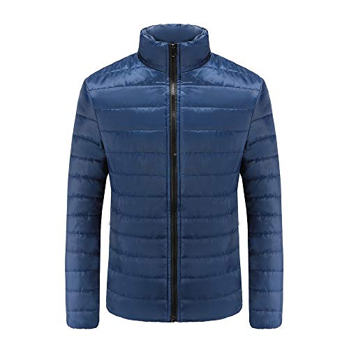 Realdo Mens Thick Coat Clearance Sale, Mens Warm Slim Fit Stand Collar Winter Outwear Jacket