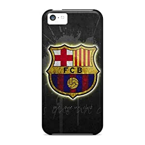 RentonDouville Iphone 5c Well-designed Hard Cases Covers Fc Barcelona Protector
