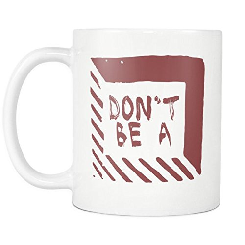 Don't Be A Square - Pulp Fiction Inspired Funny Witty Saying Coffee Mug