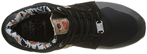 rouge Homme Kickers noir Noir Lighterfinn Basses Baskets xwYqgY8fT