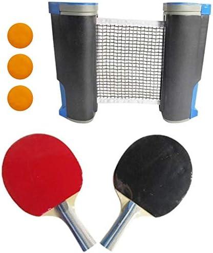 Red de ping pong retr/áctil ideal para mesa de ping pong cocina o mesa de comedor port/átil Sportout escritorio de oficina