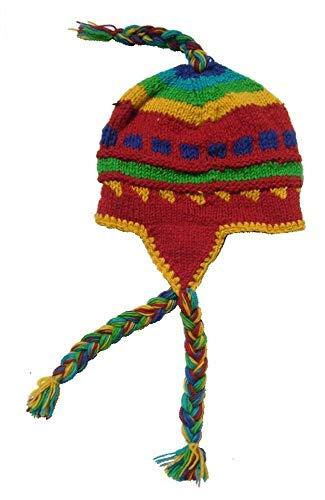 enfant  expédition de baisse Hamac détente Bonnet Artisanal népalais 100% Laine ...