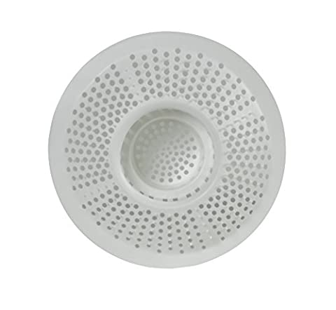 Hairstopper, Plastic Drain Cover for Showers or Bathtubs, Drain Hair