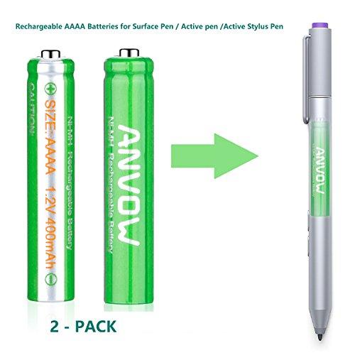 AAAA Batteries, ANVOW Recharge