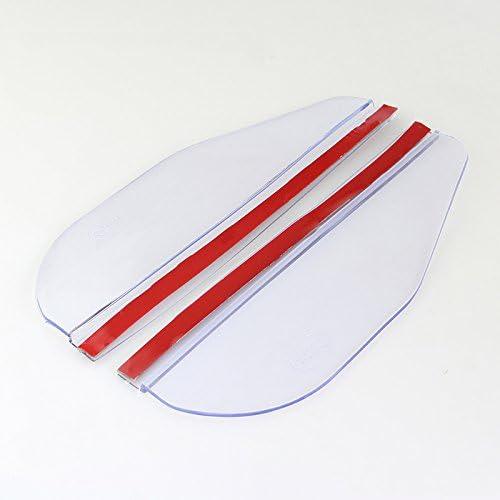 Folconroad Universel Vue Arri/ère C/ôt/é Miroir Pluie//Neige Bouclier Design Auto R/étroviseur Pluie Sourcils Shield Coque pour Voiture//Camion