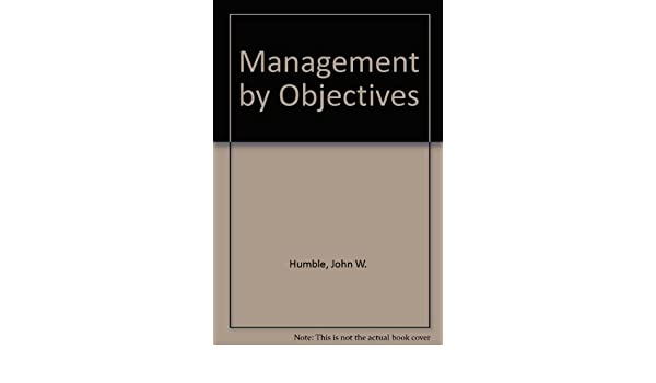 john humble management by objectives