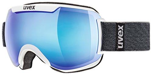 Masque de ski Downhill2000 Uvex, unisexe White