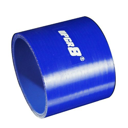 83MM 3.25 , Blue Upgr8 Universal 4-Ply High Performance Straight Coupler Silicone Hose 76mm Length