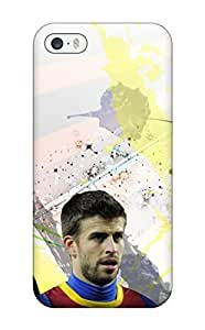 Excellent Iphone 5/5s Case Tpu Cover Back Skin Protector Gerard Pique