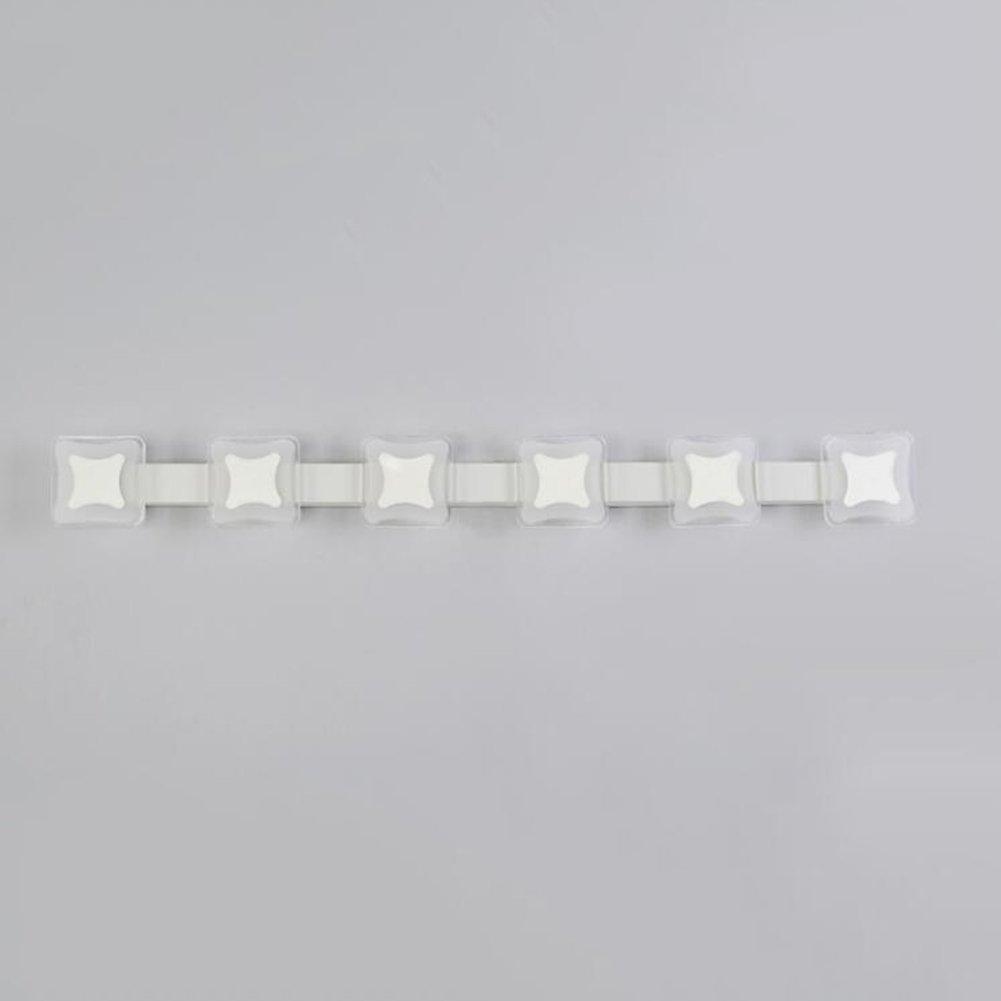 XUERUI Incandescent Lamps Mirror Light Iron + Acrylic 9-18W Led Warm Light Waterproof Bathroom Toilets 44cm / 61cm / 78cm / 95cm Mirror Light (Size : 78cm)