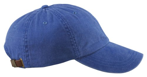 Adams AD969 6-Panel Low-Profile Pigment-Dyed Cap - Royal - One Size ()
