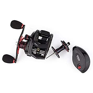 JOHNCOO Titan Baitcasting Reel Max Drag 13 Kgs Big Fish Fishing Reel for Saltwater and Freshwater Heavy Duty