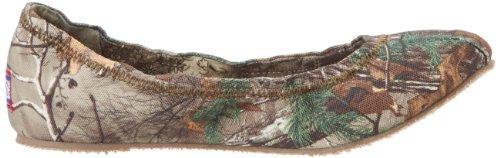 Skechers Women's Bobs Real Tree Ballet Flat,Camouflage,6.5 M US