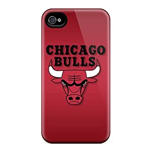 Hard Protect Phone Case For Iphone 6plus (Qnr14357oEzG) Custom Beautiful Chicago Bulls Pattern