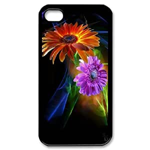 Designed With Beautiful Flowers Pattern , Fit To iPhone 4,4S