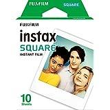 Fujifilm Instax Square Film - 10 Exposures Película Instax Square 10 fotos, 1 caja, Blanco