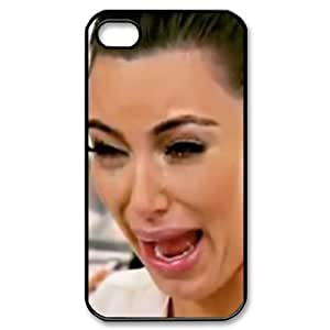 Kim Kardashian Plastic Case/Cover For Samsung Galaxy S3 I9300 Case Cover , Hard Case Black/White